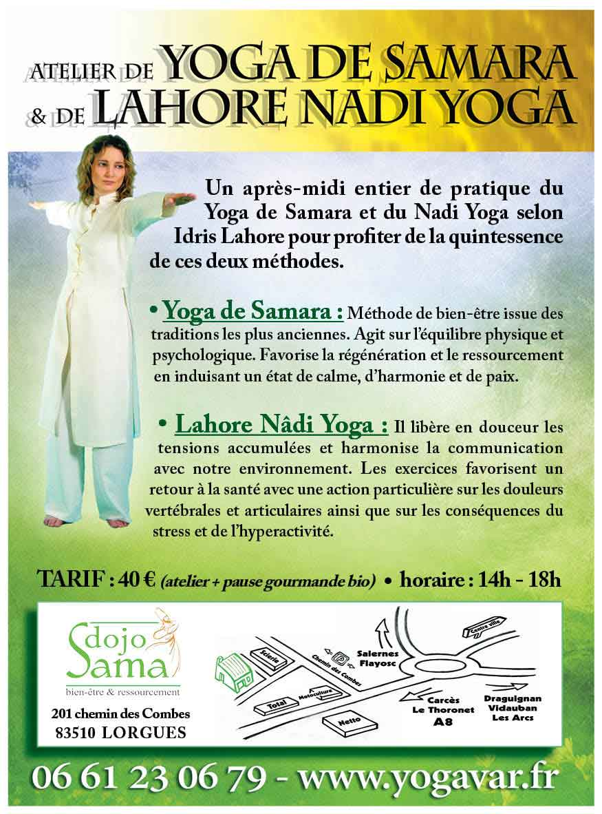 ateliers et stages yoga